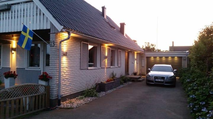 Big house, nice garden, good location in Varberg