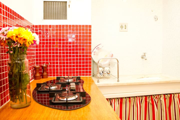 Charming flat Santa Teresa/Lapa Rio - Rio de Janeiro - Huoneisto