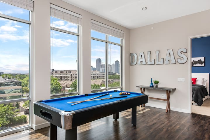 IVY| Dallas | 2BD/2BA Penthouse| Best of Uptown