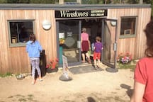 The famous and extremely delicious, many flavoured Winstones ice cream !