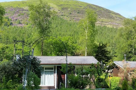 WALES UK - LOG CABIN - Pet friendly - Dinas-Mawddwy - Cottage