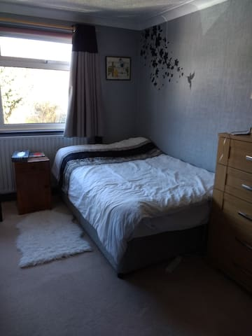 Double room in quiet village location