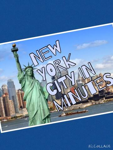 New York City in Minutes! - Teaneck - Casa
