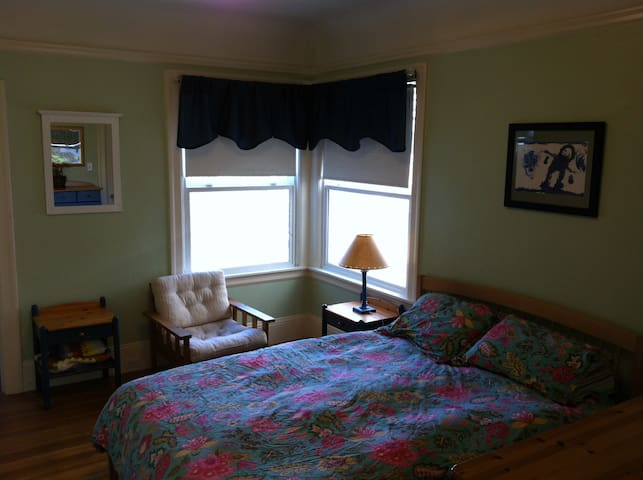 Another angle of the bedroom.