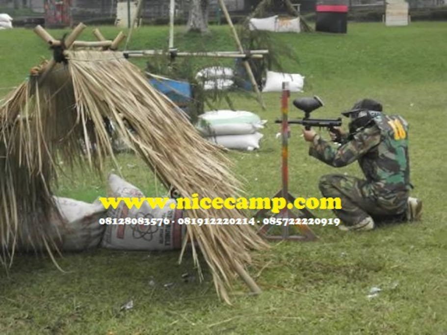 Simulasi Paintball Wargames Activities