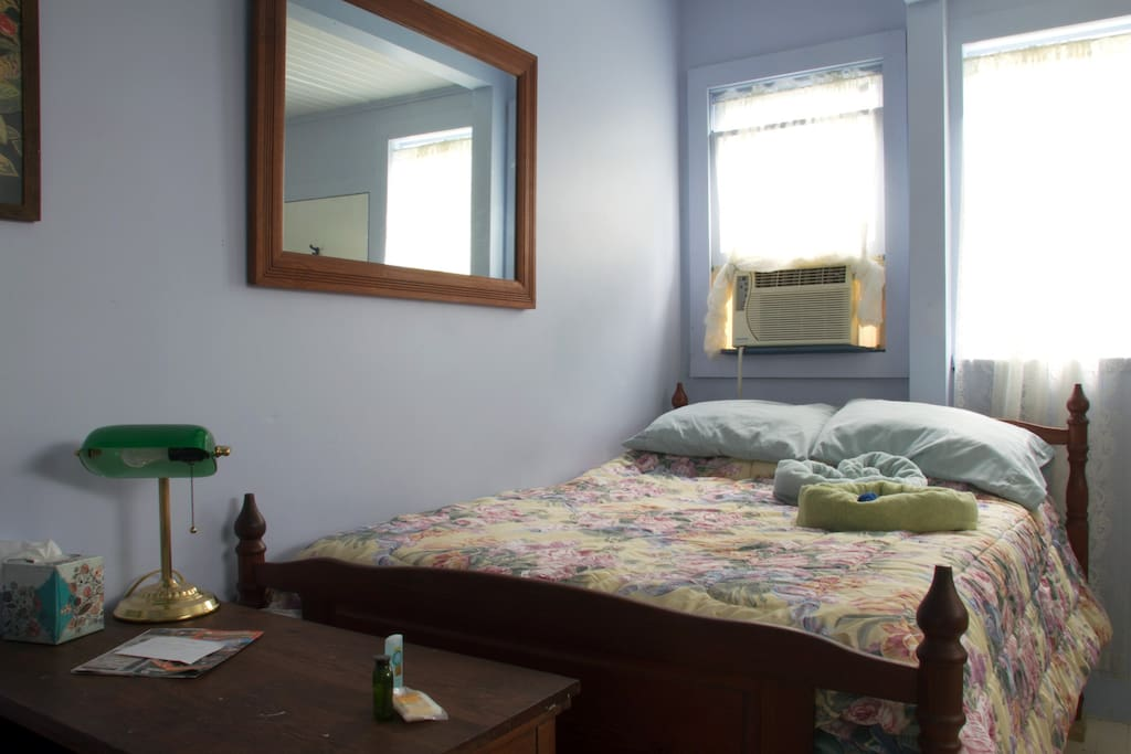Second bedroom with another very comfortable double bed