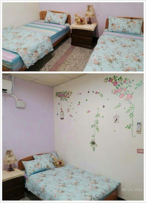 乾淨,舒適,獨立單人床(兩頂)
