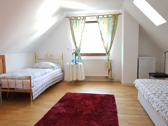 Zimmer in unserem Traumhaus, Bright Room to rent