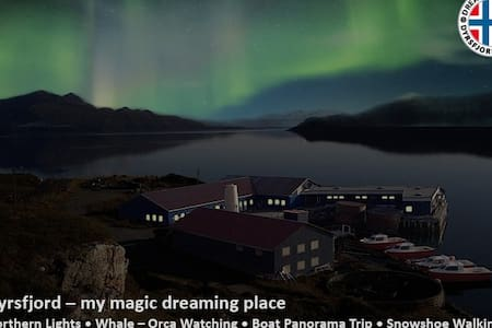 Dyrsfjord - my magic dreaming place - Hansnes - Flat
