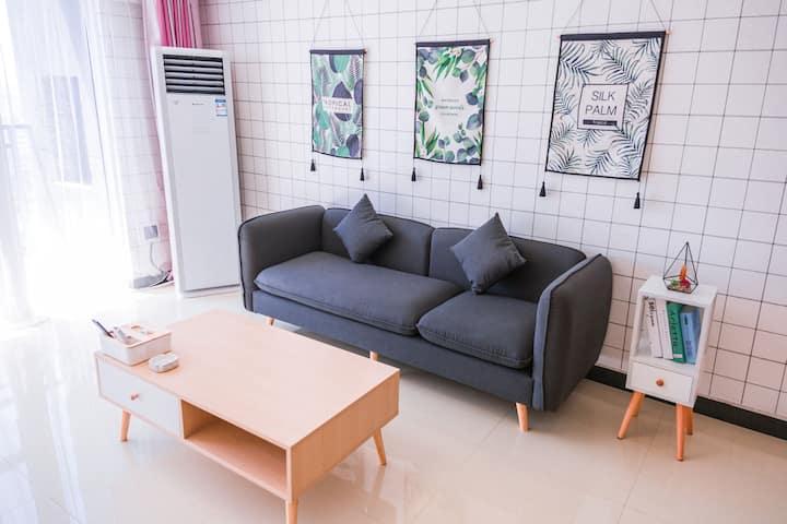 黄陂广场loft北欧风复式公寓
