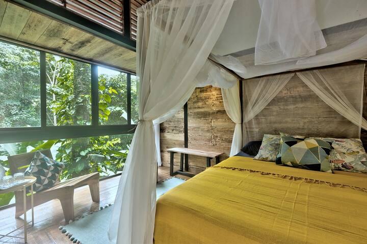 Habitación Con Balcón y Vistas En La Selva ❤