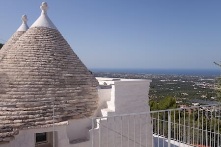 PANORAMIC SEA VIEW TRULLO SLEEPS 4 - Fasano - Hus