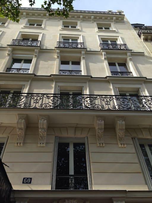 Chaleureuse studette montparnasse apartments for rent in paris le de - Airbnb paris montparnasse ...