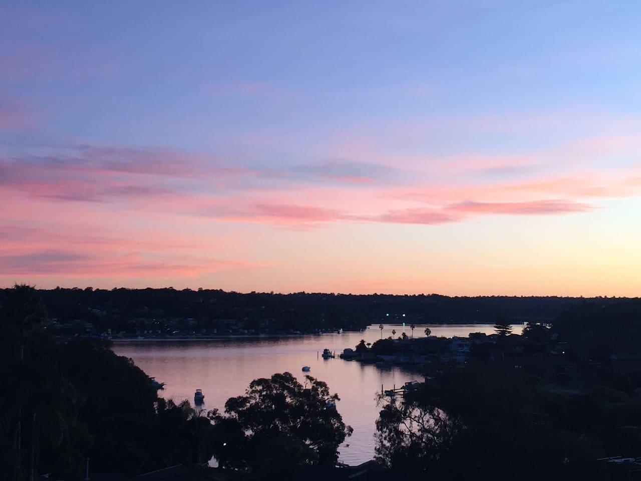 Enjoy a beautiful sunset everyday