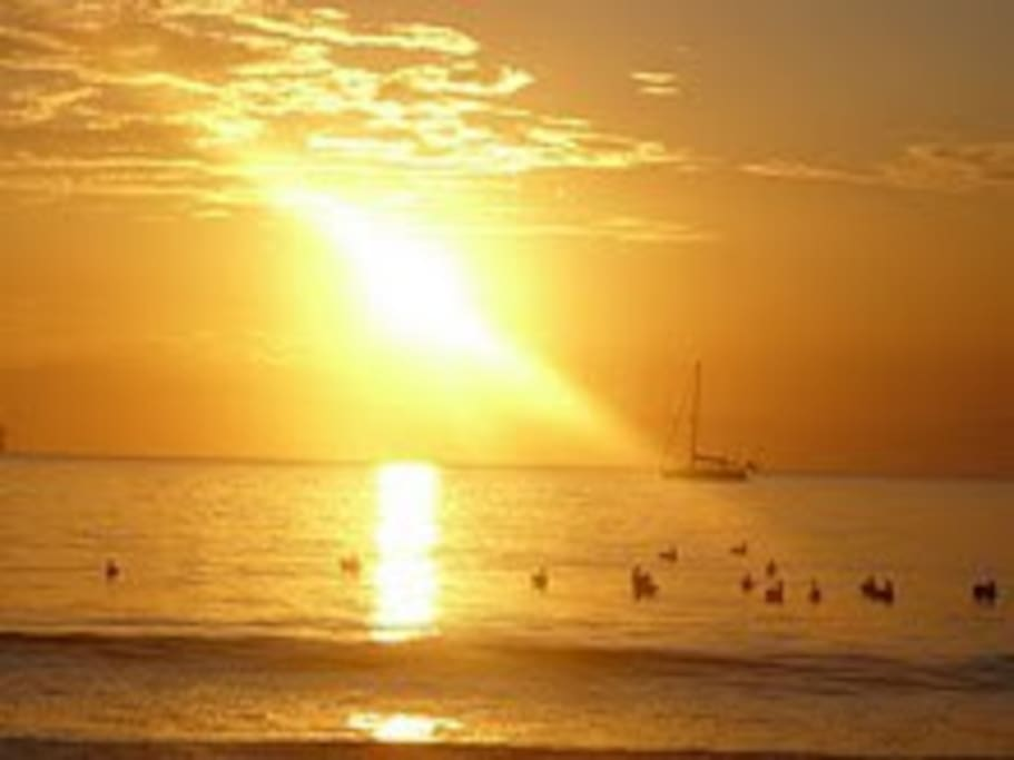 Sunshine in Playa Tambor