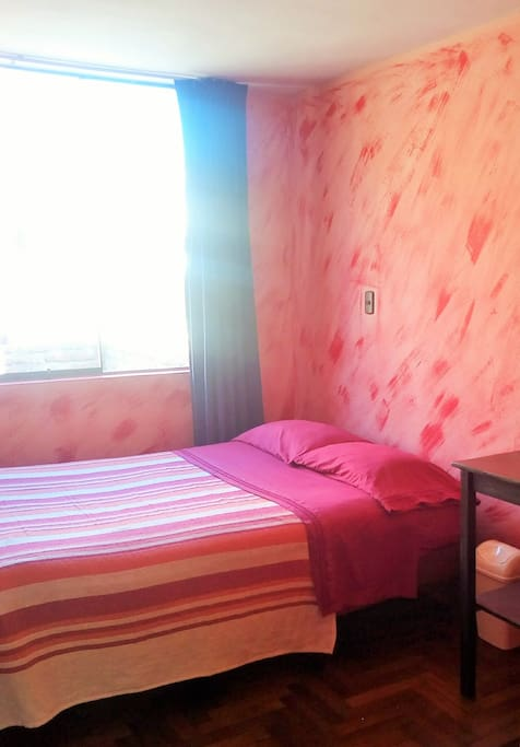 Habitación Matrimonial con cama 2 plazas. (Double Room)