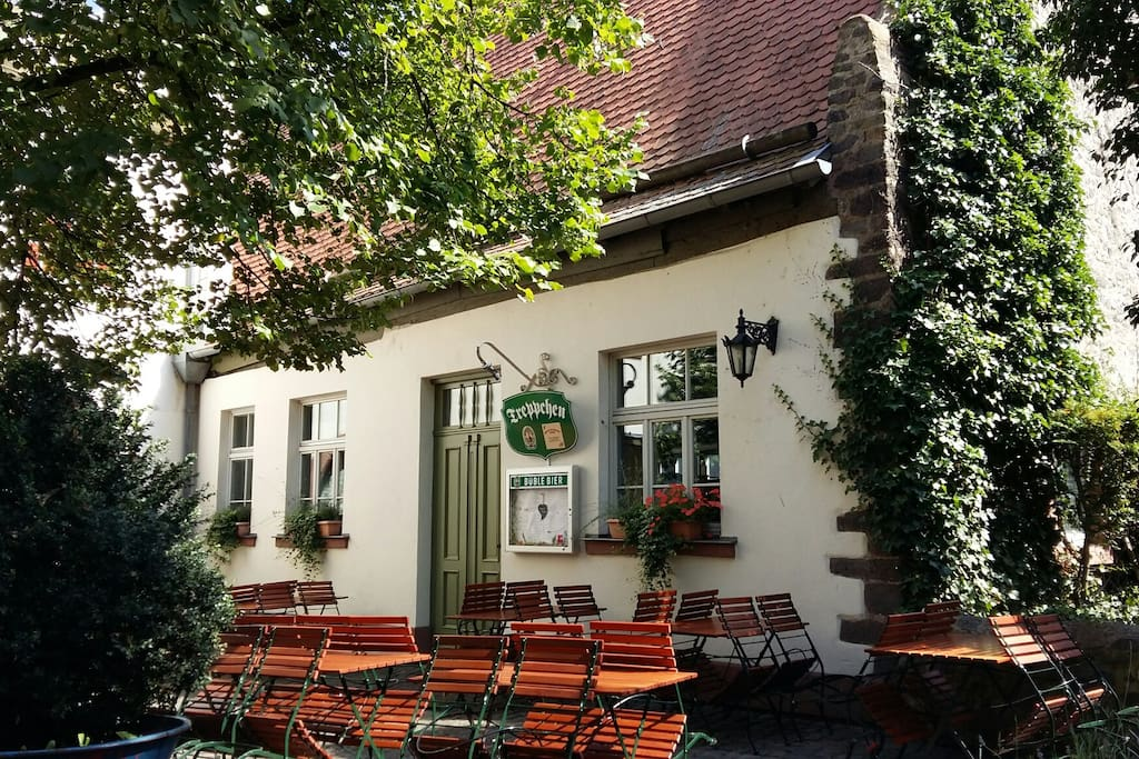 The restaurant with the traditional German cuisine