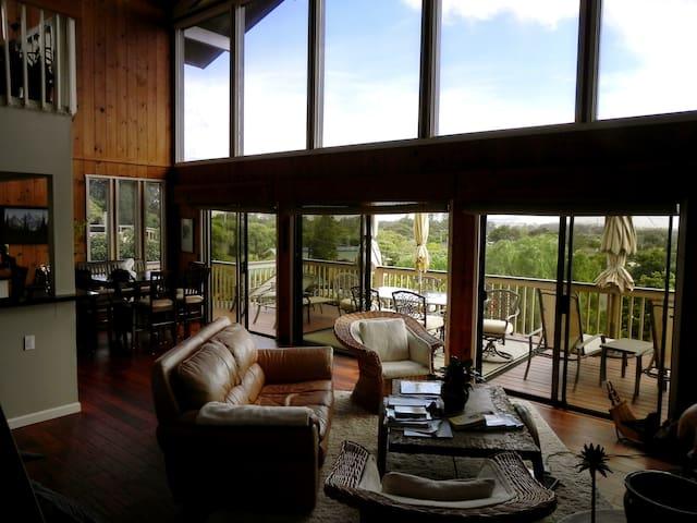 Waimea Home with Ocean & Mt. Views!