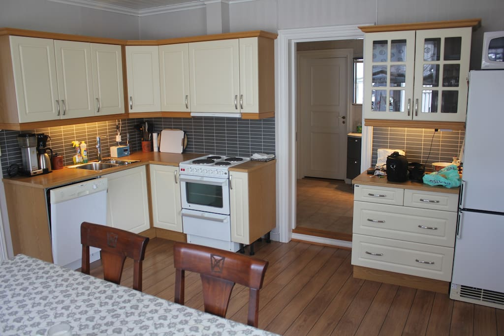 Kitchen, fully furnished