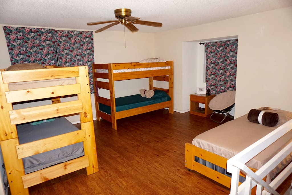 East Half of the Bunk Room