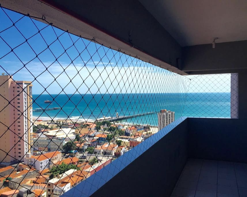 vista do corredor/varanda