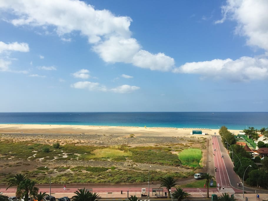 Uninterrupted sea view from apartment 917