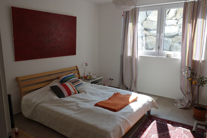 Single Room with double bed / TV