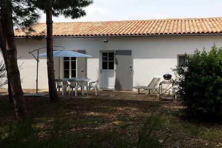 Maison située 500 m de la plage au Bois Plage