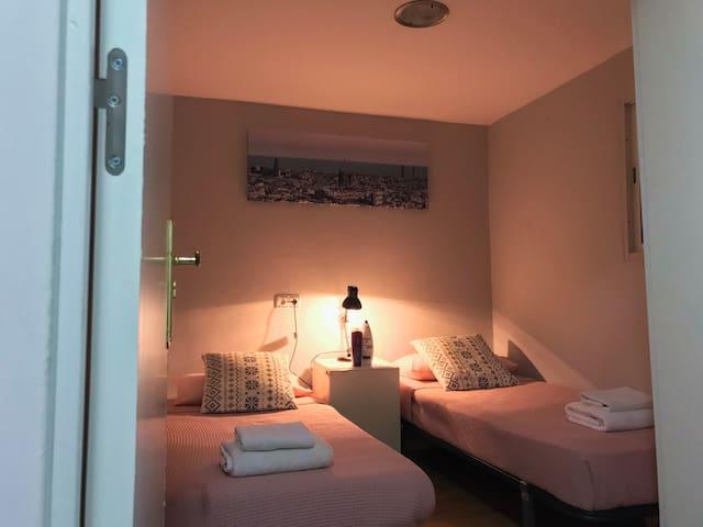 Habitación Doble de Apartamento / Nou de Rambla