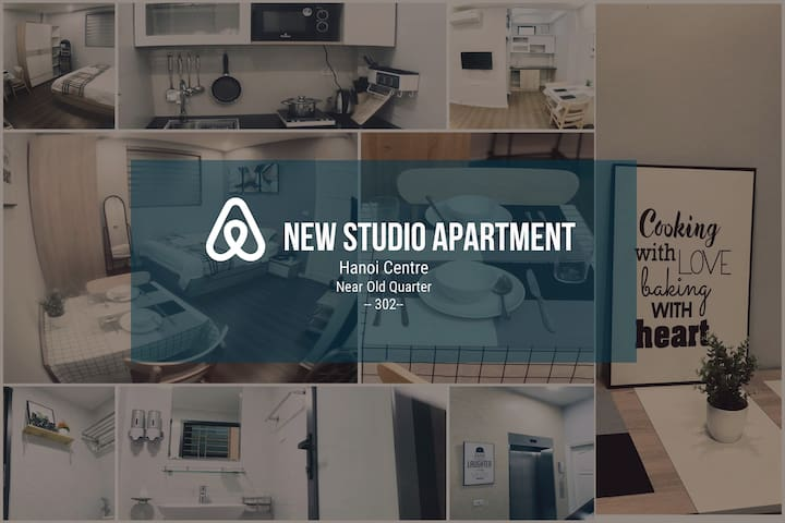 #302# New Studio Apt, Hoan Kiem, near old quarter