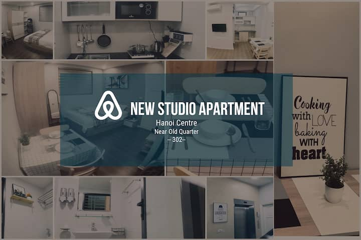 New Studio Apt, Hoan Kiem, near old quarter #0302#