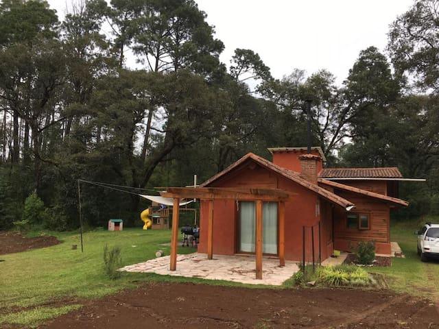 Cabaña en el bosque (en privada) - Valle de Bravo - Srub