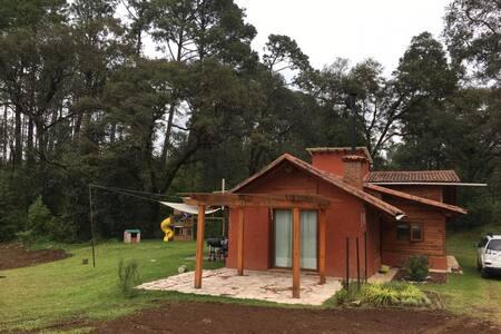 Cabaña en el Bosque - Valle de Bravo - Cabin