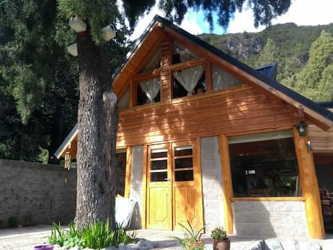 Cabaña Río villegas  insta: casaruta83