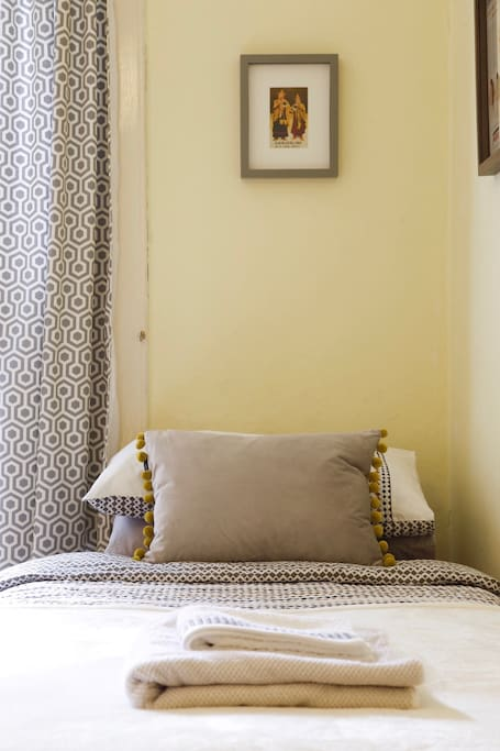 We provide comfortable pillows and duvets.