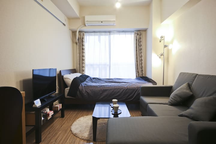 Near Ikebukuro cozy room by walk 3 min Free wifi! - Toshima-ku - Appartement