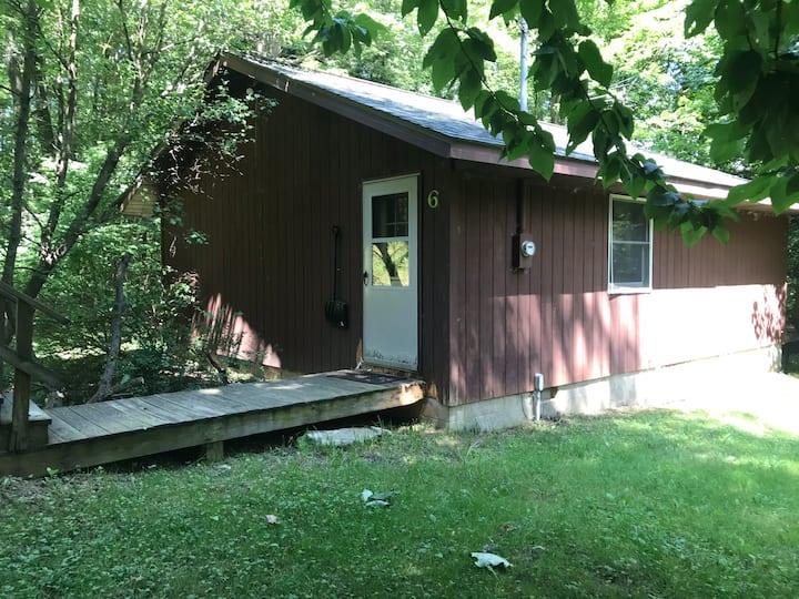 2 Bedroom Rustic Cabin #6 near Kinzua Reservoir