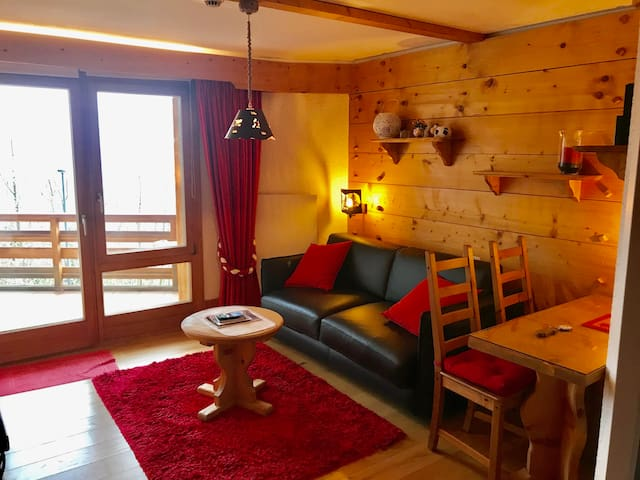 Lovely Studio Bristol with swimming-pool Villars