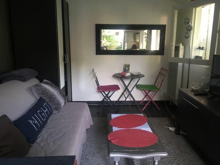 maison studio  avec jardin entre paris et dysney