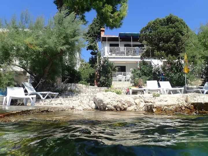 Apartment Balažić A2 by the sea