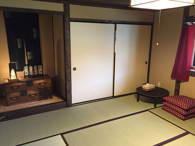Yanagiya at castle town:private room D, 8 tatami - Ena - Rumah