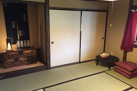 Yanagiya at castle town:private room, 8 tatami - Ena