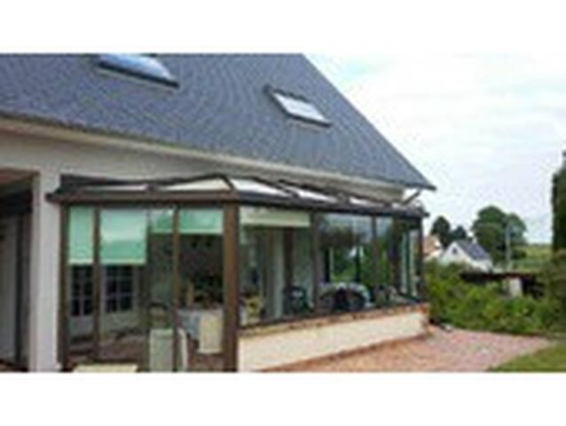 Grande maison avec jardin au coeur de la Normandie