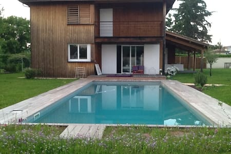 House with garden and swimmingpool - Marmande - Rumah