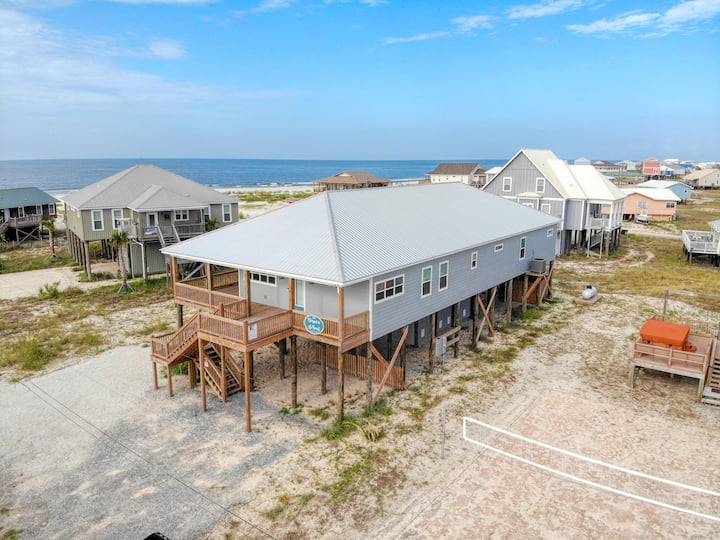 Blessed at the Beach - Gorgeous, New Gulf-side Beach House with Heated Pool, Jacuzzi, high end furnishings and Great Gulf Views!