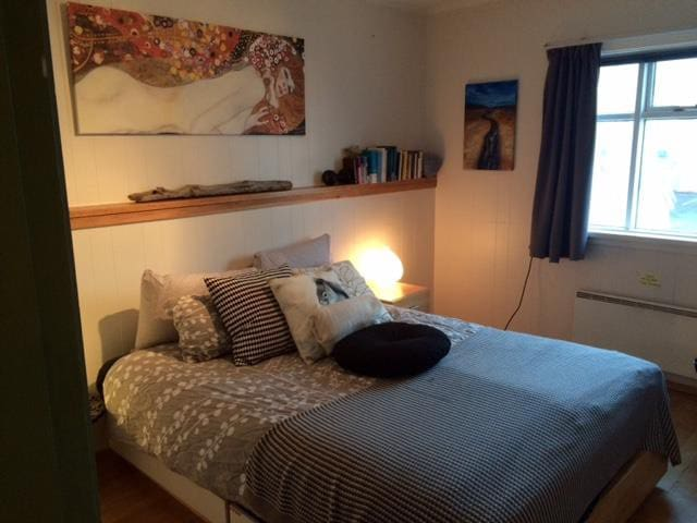 Einarsstaðir Homestay, large double room - Vík - Bed & Breakfast