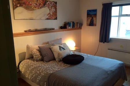 Einarsstaðir Homestay, large double room - Vík
