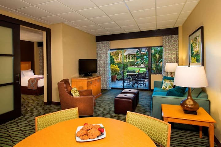 Great Suite Double Bed One Bedroom  At Lake Buena Vista