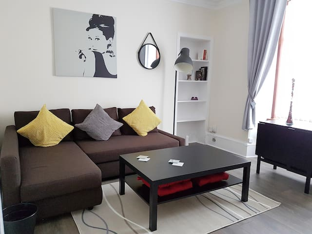 Cosy apartment in a very convenient location - Dundee - Lägenhet