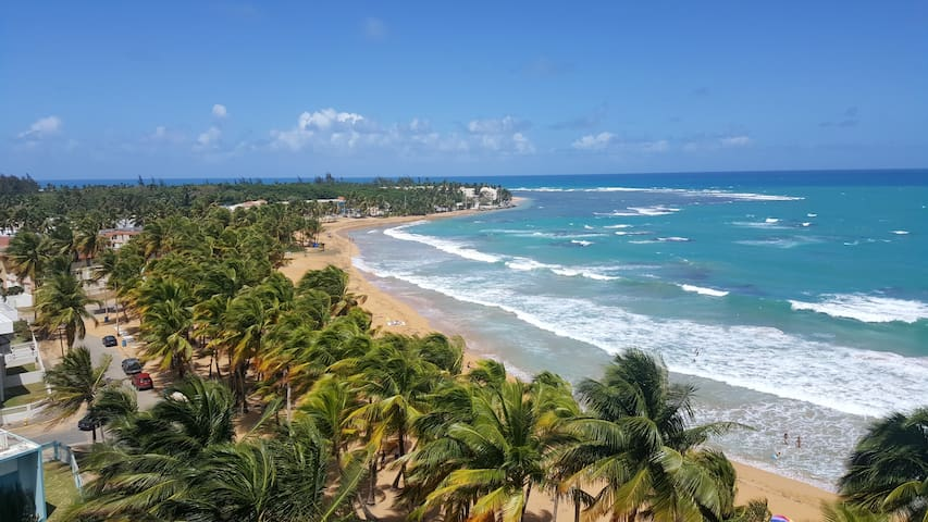 Breezy studio apt with spectacular ocean view!!!!! - Luquillo - Lyxvåning